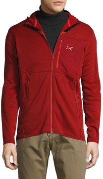 Arc'teryx Men's Fortrez Midweight Fleece Trim Fit Hoody Jacket