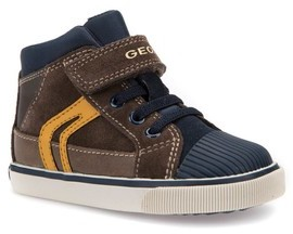 Geox Toddler Boy's 'Kiwi' High Top Sneaker