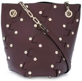 Proenza Schouler Mini Studded Hinge Hex Bucket Bag
