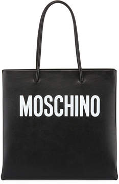 Moschino Calf Leather Tote Bag