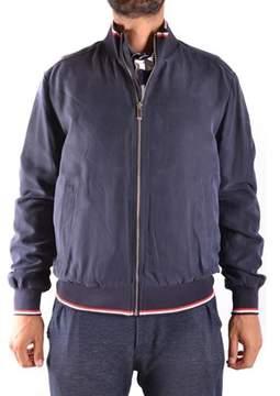 Paul & Shark Men's Blue Polyester Outerwear Jacket.