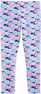 Vineyard Vines Girls Multi Whale Leggings