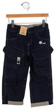 Ikks Boys' Printed Cargo Pants w/ Tags