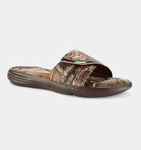 Under Armour Girls' UA Ignite VII Camo Sandals