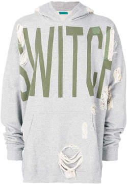 Paura distressed SWITCH hoodie