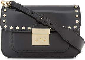 MICHAEL Michael Kors Sloan Editor large leather cross-body bag - BLACK - STYLE