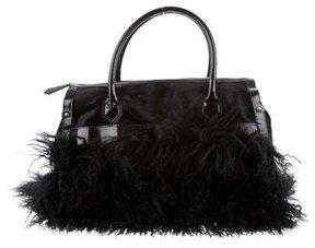 Christian Louboutin Ponyhair & Fur Tote Bag