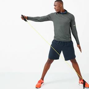 New Balance for J.Crew workout hoodie