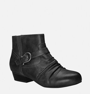 Avenue Trinity Ruched Buckle Bootie