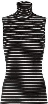 Derek Lam Striped Knit Turtleneck