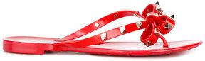 Valentino Rockstud flip-flops