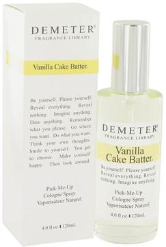 Demeter Vanilla Cake Batter by Cologne Spray for Women (4 oz)