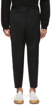 Jil Sander Black Preston Trousers