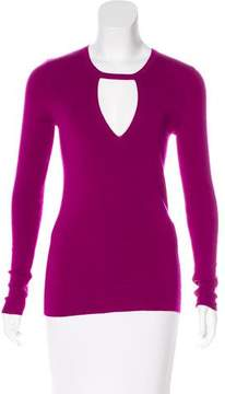 Barbara Bui Wool Cutout Sweater