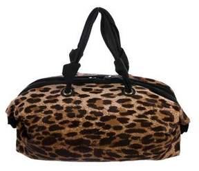 Lanvin Ponyhair Dome Bag