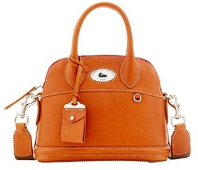 Dooney & Bourke Florentine Toscana Small Domed Satchel. - NATURAL - STYLE
