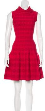 Alaia Jacquard Fit and Flare Dress w/ Tags