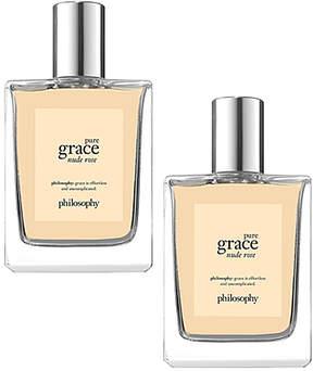 philosophy Pure Grace Nude Rose Eau de Toilette - Set of Two