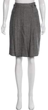 Anna Sui Wool Knee-Length Skirt