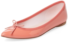 Repetto Women's Brigitte Patent Leather Pointed-Toe Flat