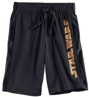 Disney Boys 4-7x Star Wars a Collection for Kohl's Star Wars Foiled Shorts