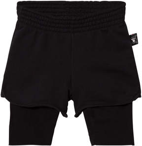 Nununu Black One On One Shorts