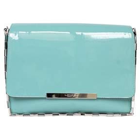 Lancel Varenne Turquoise Patent leather Handbag