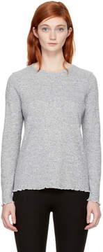 A.P.C. Grey Long Sleeve Lara T-Shirt