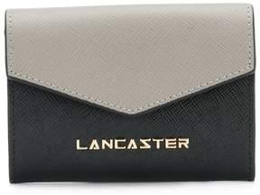 Lancaster logo plaque wallet
