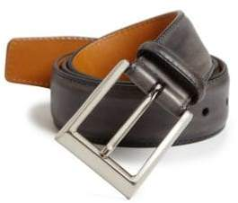 Saks Fifth Avenue COLLECTION BY MAGNANNI Leather Belt