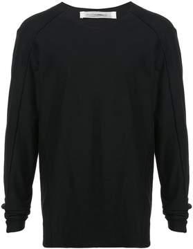Individual Sentiments raw edge shirt