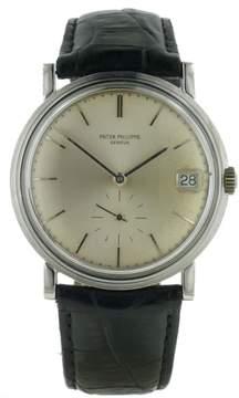 Patek Philippe Calatrave 3445 18K White Gold Automatic Mens Watch