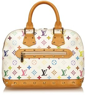 Louis Vuitton Pre-owned: Monogram Multicolore Alma Pm. - WHITE X MULTI - STYLE