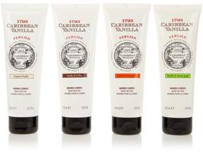 Perlier Caribbean Vanilla 4-piece Body Butter Set