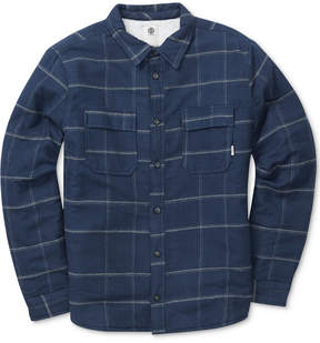 Element Men's Shelton Grid-Pattern Flannel Shirt