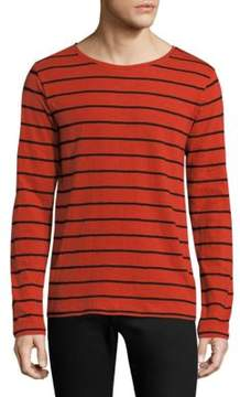Nudie Jeans Striped Long Sleeve Tee
