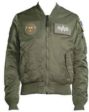 Alpha Industries Slim-Fit Bomber Jacket