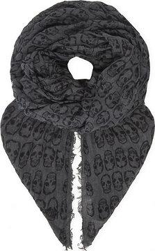 Zadig & Voltaire Delta Skulls scarf