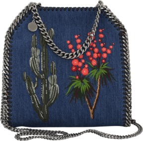 STELLA MCCARTNEY Mini Falabella Embroidered Tote