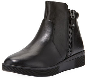 Gentle Souls Harper Leather High-Top Sneaker, Black