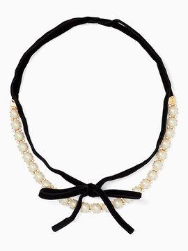 Kate Spade Girls in pearls choker
