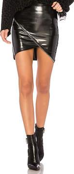 RtA Ivy Vinyl Skirt