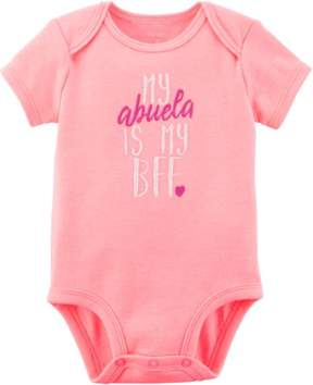 Carter's Baby Girls My Abuela Is My BFF Bodysuit
