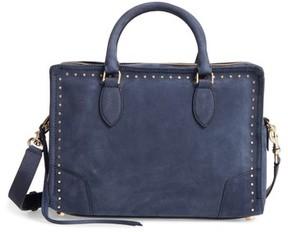 Rebecca Minkoff Moonwalking Leather Satchel - Blue - BLUE - STYLE