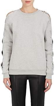 IRO Women's Nakina Lace-Up-Sleeve Cotton Sweatshirt