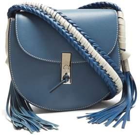 Altuzarra Ghianda Braided Cross Body Bag - Womens - Blue White