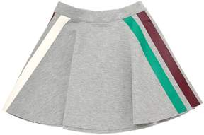 Molo Doubled Jersey Skirt W/ Stripes