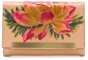Patricia Nash Painted Lily Collection Cametti Wallet