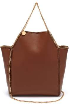 Stella McCartney Falabella Mini Faux Leather Tote - Womens - Tan
