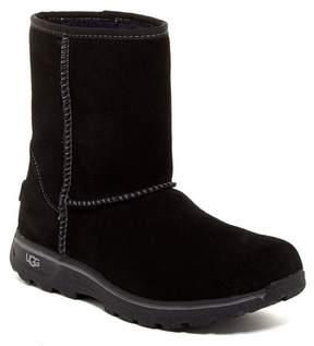 UGG COLLECTION Lynden Waterproof Suede UGGpureTM Wool Boot (Little Kid & Big Kid)